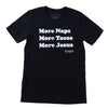 More Tacos More Jesus Tee - Black - NHiM Apparel