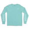 NHiM Sleeve Art LS [Aqua] - NHiM Apparel