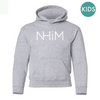 Kids NHiM Hoodie [GREY HEATHER] - NHiM Apparel