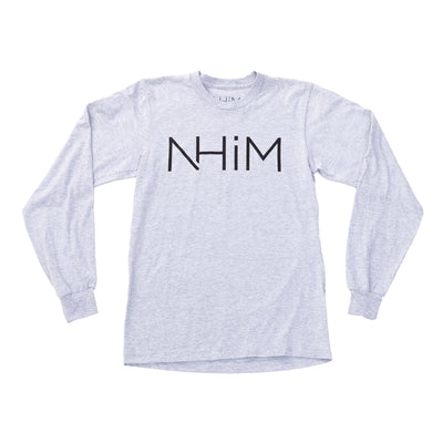 NHiM Original Long Sleeve - Athletic Grey - NHiM Apparel