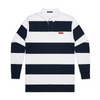 NHiM Church Rugby [Navy Stripe] - NHiM Apparel