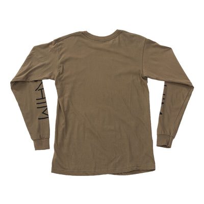 NHiM Original Sleeve Art Long Sleeve - Army - NHiM Apparel