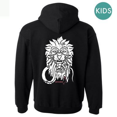Kids Overcomer Hoodie [BLACK] - NHiM Apparel