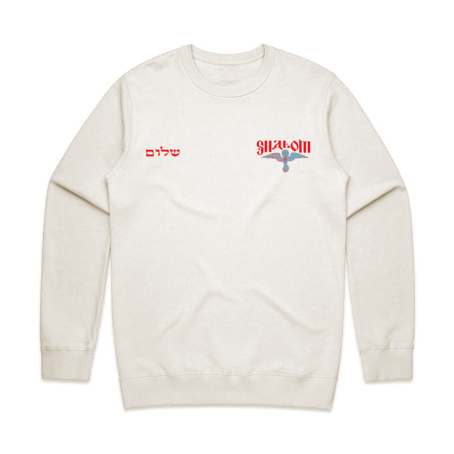 Shalom Peace of God Crew [Cream]