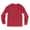 NHiM Sleeve Art LS [Cardinal] - NHiM Apparel