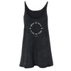 This Is Love Tank - Marble Wash Black