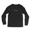 {Pre-order} Trust God LS T [Black] - NHiM Apparel