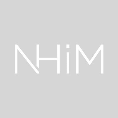 "6"" NHIM DECAL - WHITE - NHiM Apparel"
