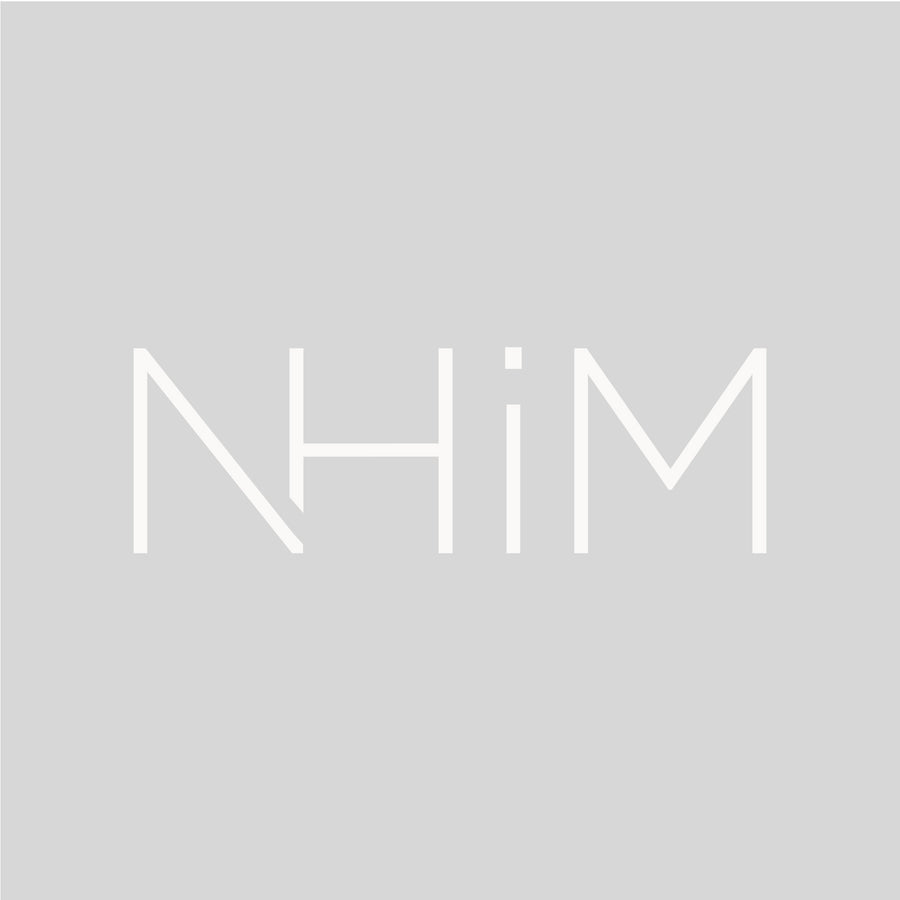 "9"" NHIM DECAL - WHITE - NHiM Apparel"