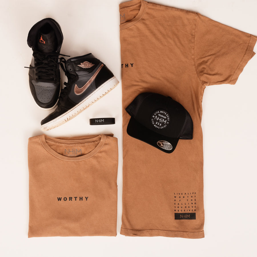 Worthy T [Vintage Saddle] - NHiM Apparel
