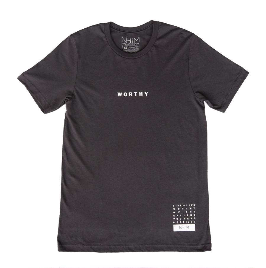 Worthy T [Asphalt] - NHiM Apparel