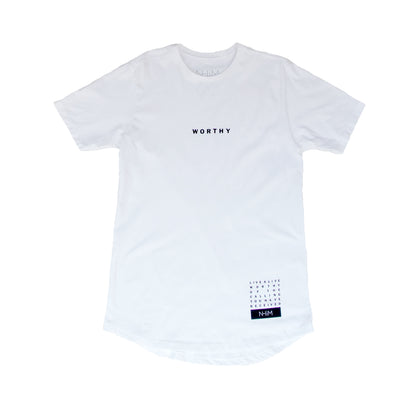 Worthy Curve T [White]