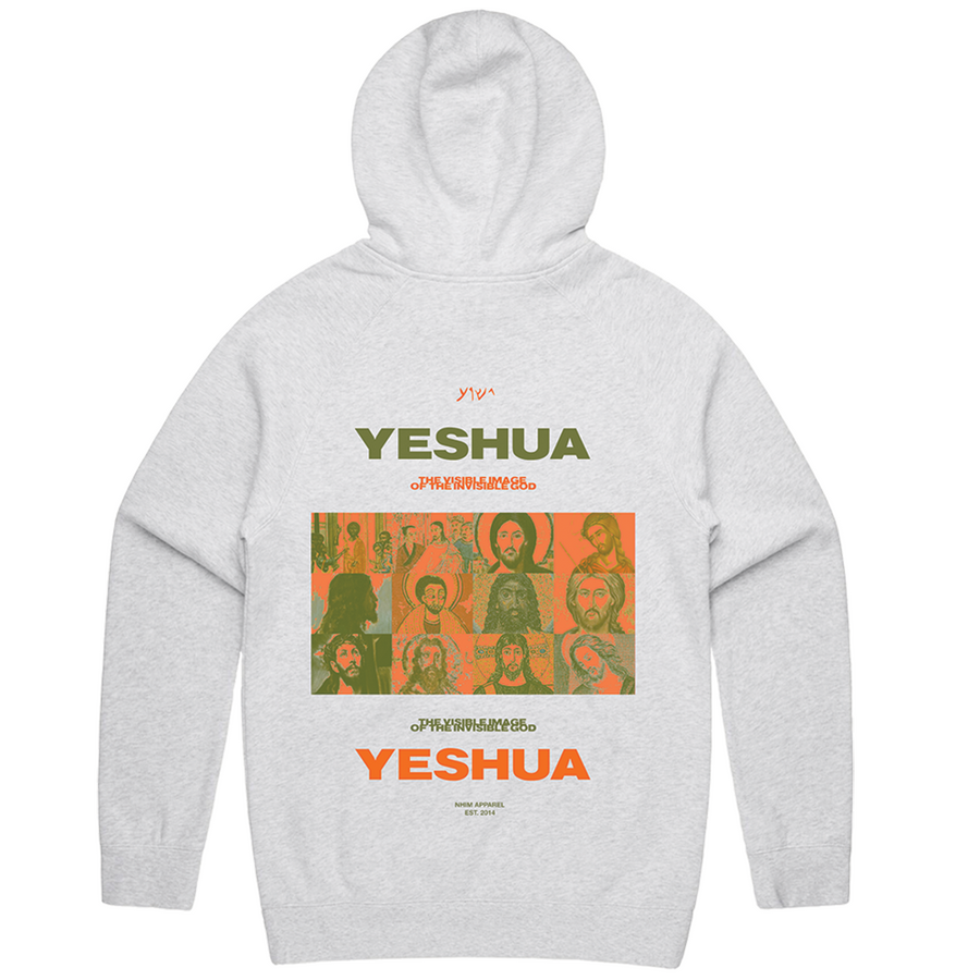 Yeshua Hoodie // No. 8 [Light Heather]