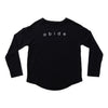 Abide Knit Pullover - Black - NHiM Apparel