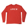 Amen Long Sleeve T - Dark Orange - NHiM Apparel