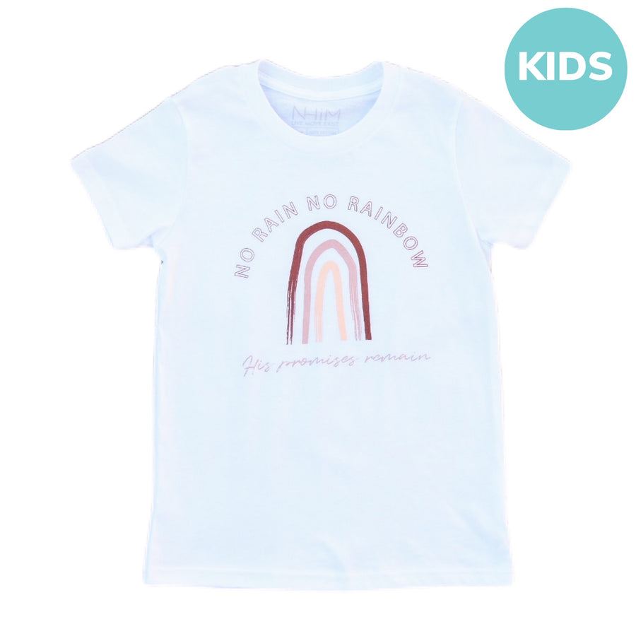 Promises Tee Kids [White] - NHiM Apparel