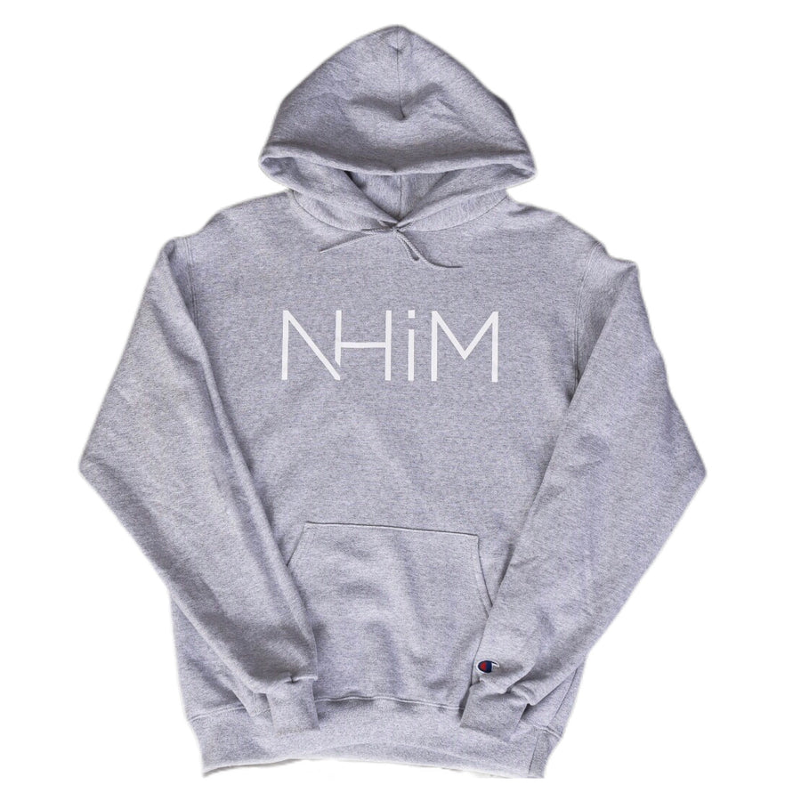 Champion x NHiM Hoodie [H. Grey] - NHiM Apparel