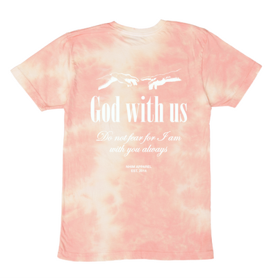 God with Us T [Peach Creme]