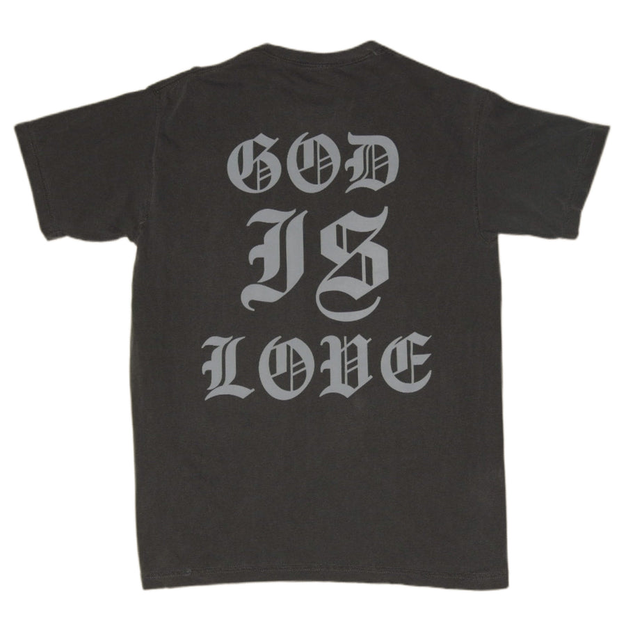 God is love T [Asphalt] - NHiM Apparel