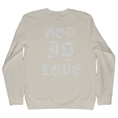 God is love Crew [Natural] - NHiM Apparel