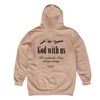 God with Us Hoodie [Sand] - NHiM Apparel