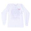 The Lion Bled Long Sleeve - White