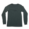 NHiM Embroidered Long Sleeve T - Forest - NHiM Apparel