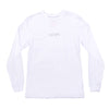 NHiM Embroidered Long Sleeve T - White - NHiM Apparel