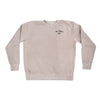 No Longer Lost Crew Pullover - Tan - NHiM Apparel