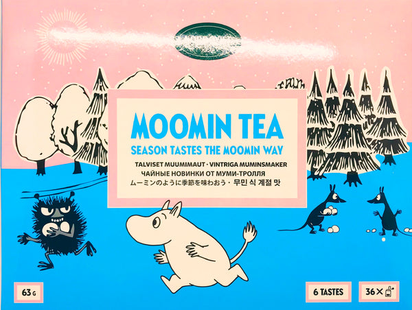 Moomin Wintery Tea Selection 63g
