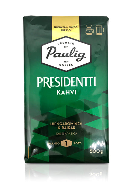 Paulig Presidentti filter coffee 500g
