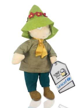 Moomin Snufkin soft toy