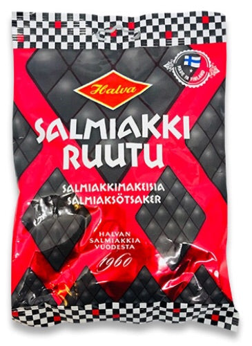Halva Salmiac Diamonds 170g