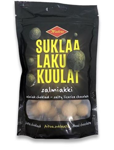 Halva Licorice Filled Chocolate Balls 140g