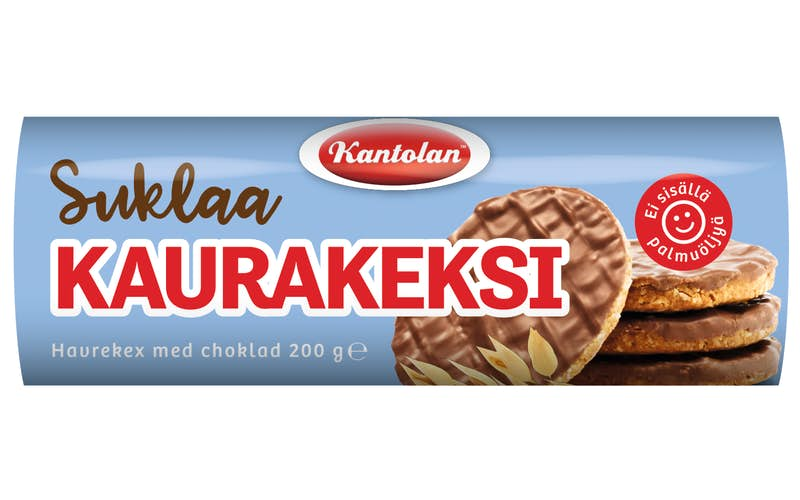Kantolan Chocolate Oat Biscuits 200g