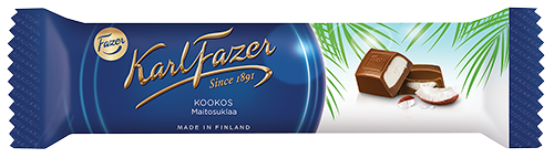 Fazer Coconut Milk Chocolate Bar 38 g