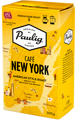 Paulig Cafe New York American style 400g