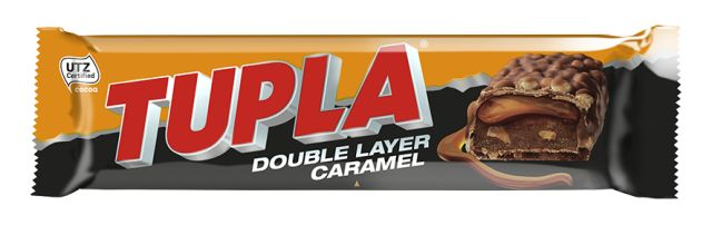 Tupla Double Layer Caramel Chocolate Bar 48g