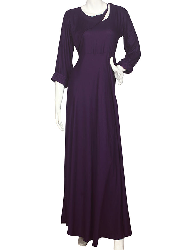 Royal purple party wear kurti