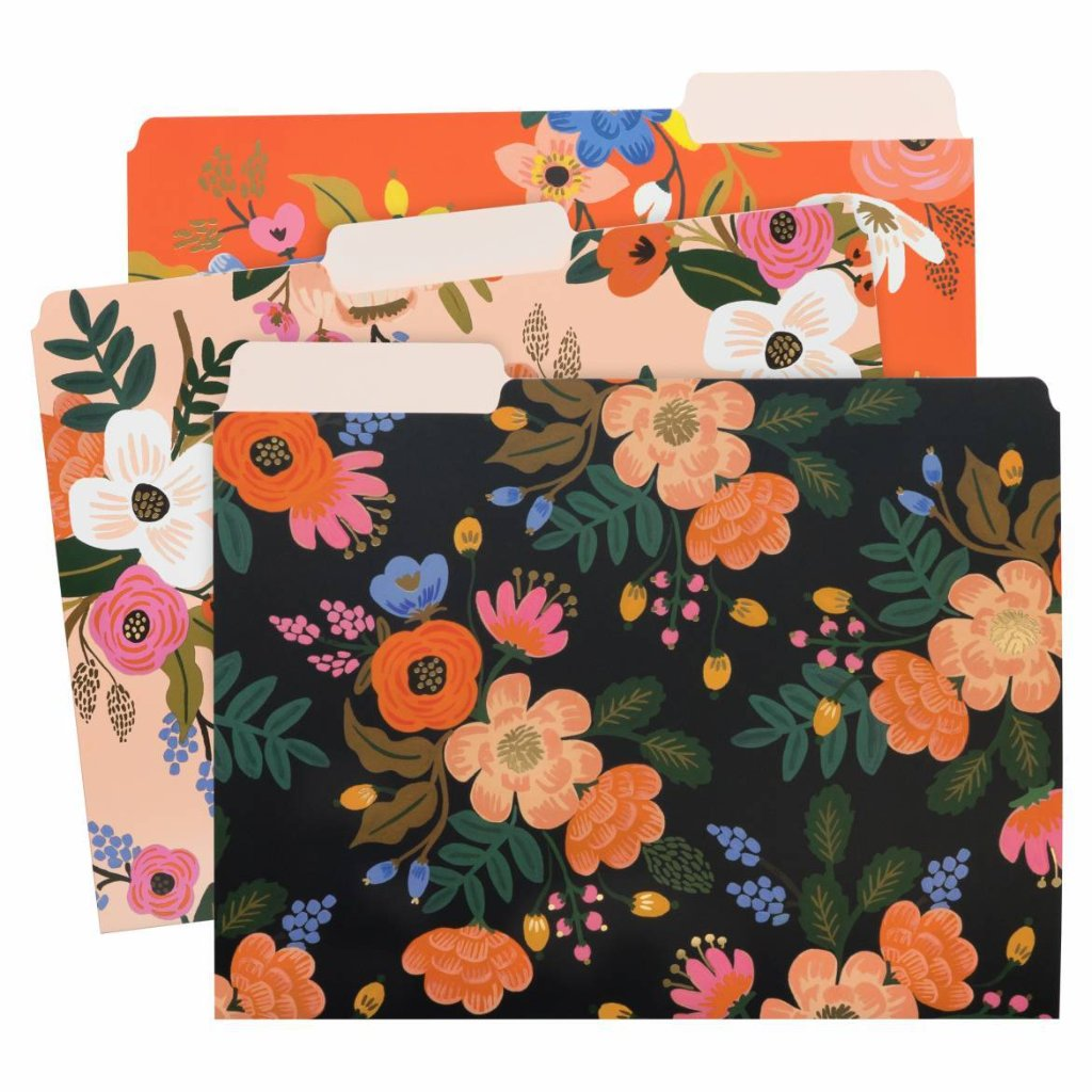 Carpetas Lively Floral de Rifle Paper Co.