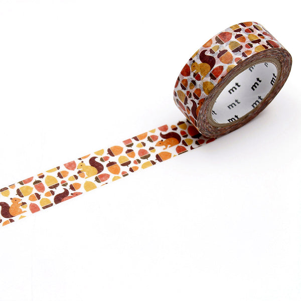 MT washi tape_ardilla_estilographica