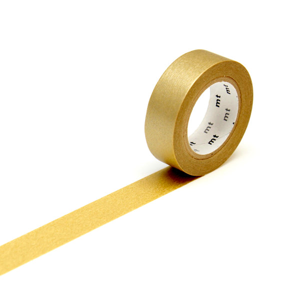 MT washi tape_oro mate_estilographica