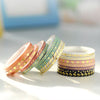 SET DE MINI WASHI TAPES - BOHO CHIC III