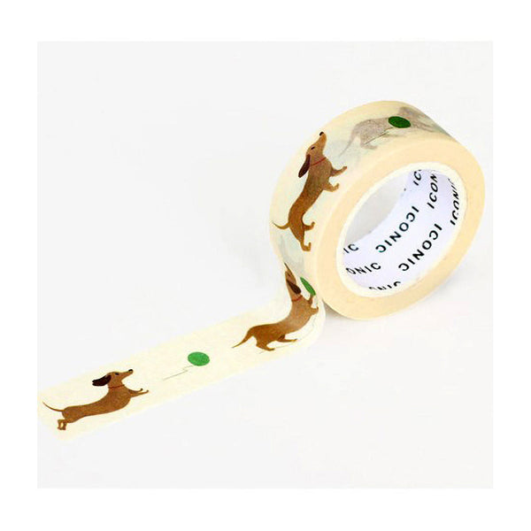 iconic_washi tape dachshund_estilographica