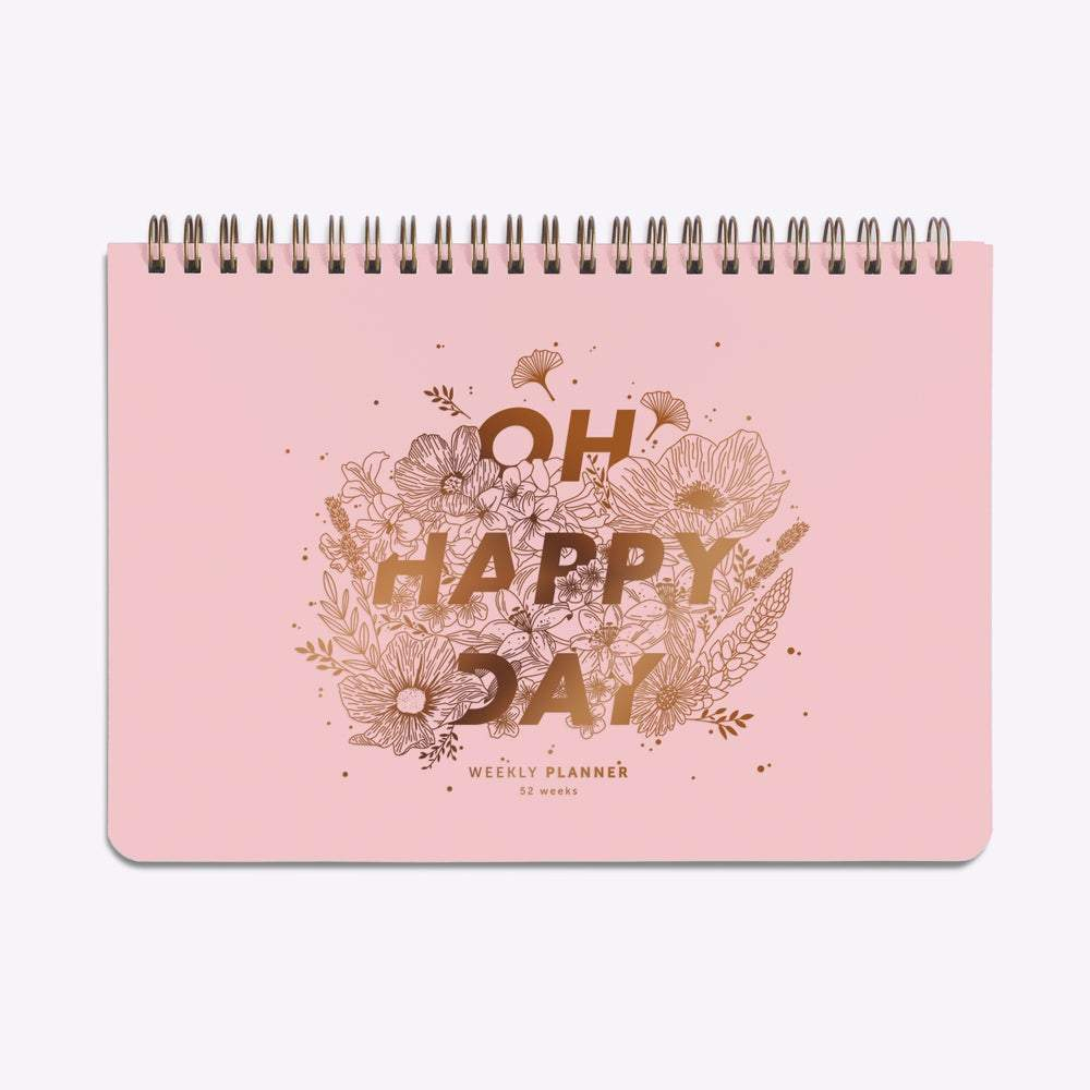 les éditions du paon_planner sin fecha oh happy day_estilographica