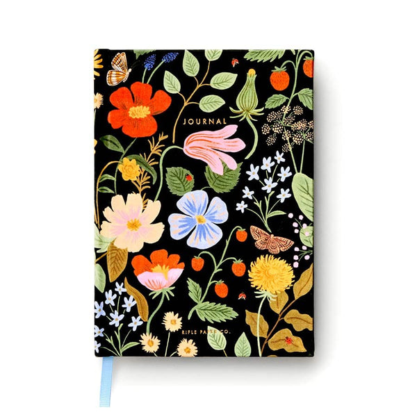 rifle-paper_cuaderno-entelado_strawberry-fields_estilographica