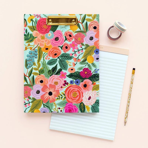 rifle paper co_clipboard garden party_estilographica