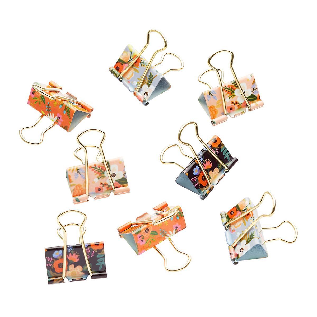rifle paper co_set pinzas lively floral_estilographica