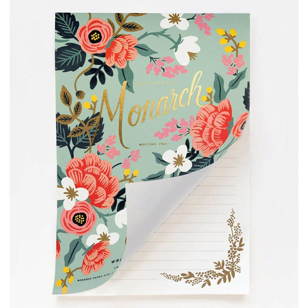 rifle paper co_bloc A4 monarch_estilographica