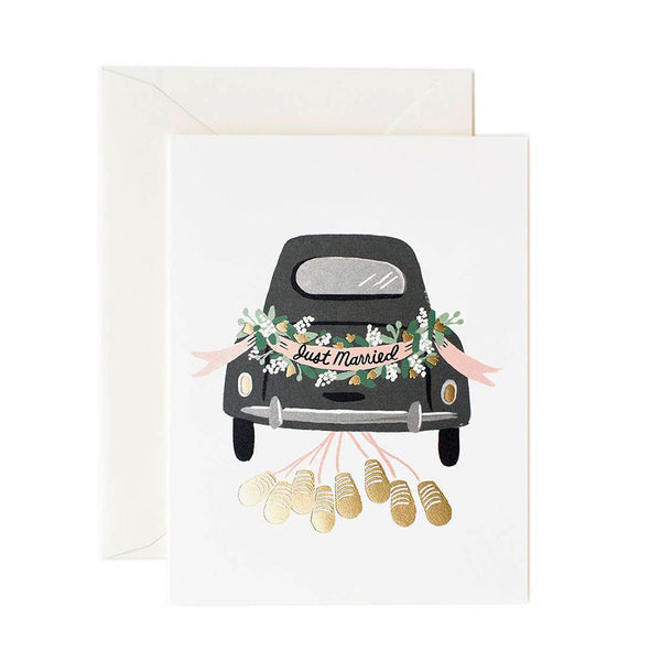 tarjeta boda Rifle Paper Just Married